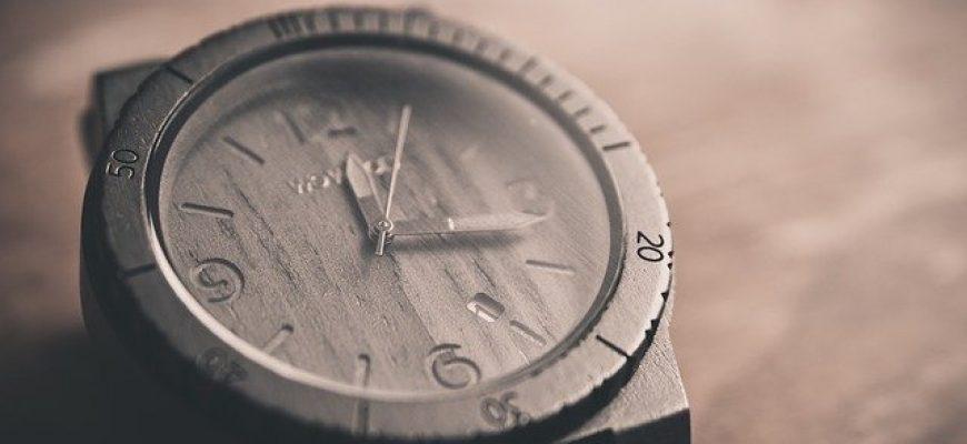 שעון שחור לגבר –  המתנה המושלמת